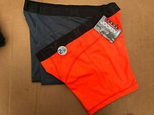 Men Jockey Sport Microfiber Performance 2-Pack boxer Brief Underwear, M, L, XL