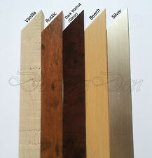 WOOD WOODEN PICTURE POSTER PHOTO FRAMES 8 VARIOUS COLOURS SIZES Stand Wall Hang