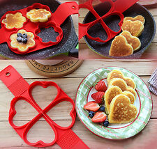 Non Stick Pancake Pan Flip Perfect Breakfast Eggs Omelette Cooking Maker Tools