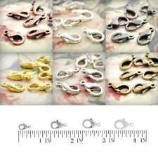 20/30/40/70pcs Lobster Claw Clasps Necklaces Jewellery Making Finding hookers