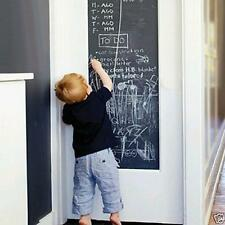 Large Blackboard Removable Vinyl Wall Sticker Chalkboard Decal Kids Chalk Board