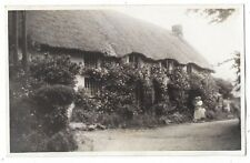 CHURCH COVE The Lizard, Cottages, RP Postcard Unposted July 1936