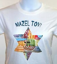 Mazel Tov Shirt, Good Luck - Jewish Shirt, Small - 5X
