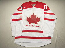 Team Canada 2010 Olympic #30 Brodeur White Jersey