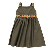 Gymboree Batik Summer gray flower dress New NWT girls size 12 18 24 M 2T 4T