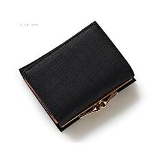 Small Lock Women Wallet Short Female Purse Brand Coin Wallet Mini Fashion Lady