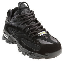 Nautilus Mens Steel Toe Athletic M Black Leather Shoes