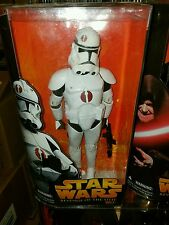 Star Wars 12 Inch Hasbro Revenge of the Sith 2 Clone Trooper Sidious ROTS NEW