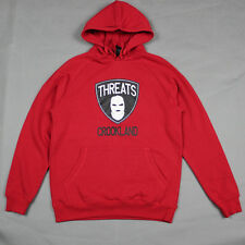Crooks & Castles The Threats Hoodie in True Red NWT CROOKS
