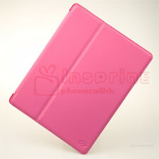 Smooth Folio Flip Leather Case Cover Stand For New iPad 4 4th/3 3rd/2 2nd