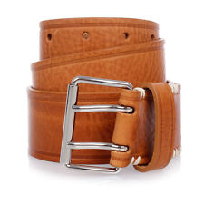 MARTIN MARGIELA MM11 New Man Vintage Leather Belt Made in Italy NWT