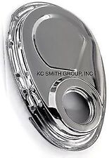 CHEVY SMALL BLOCK TIMING CHAIN COVER, CHROME