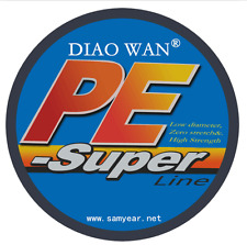 Top 100/300/500/1000M Dyneema 100%PE Spectra Braid Fishing Line 6LB-300LB 2017