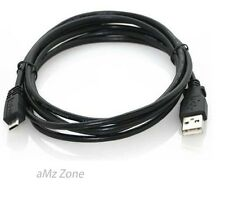 USB 2.0 Lead A Plug To Micro B 5 pin Data Charger Charging Cable Lead 1m 3m UK