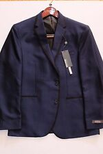 NWT Authentic Kenneth Cole Reaction Men's Solid Slim-Fit Dinner Jacket