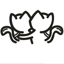Two Cat Car Sticker Car Decal Graphics Stickers Body Decals Truck Parts Hot
