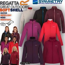 Regatta Fleece Jacket Womens Connie Softshell Walking Hiking Running Outdoor Top