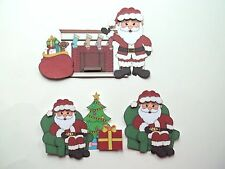 3D - U Pick - XM7 Santa Christmas Toys Bear Tree Card Scrapbook Embellishment