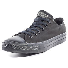 Converse Chuck Taylor All Star Ox Womens Trainers Black Black Branded Footwear