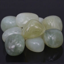 Polished Freefrom Tumbled Natural Jade Stone for Wicca,Energy Crystal Healing