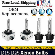 35W D1S D2S OEM Xenon HID Car DRL Headlight Replacement Direct Factory Bulb Lamp