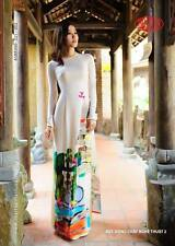 AO DAI - ao dai Traditional VIETNAMESE LONG DRESS collections - THAI TUAN NEW