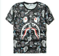 A Bathing Ape New Summer Boys T-Shirts Cool Beach Side Camouflage Bape Shirts