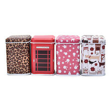 New Metal Storage Square Box Candy Trinket Tin Jewelry Iron Tea Coin Box Case RE