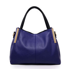 New Fashion Womens Contracted PU Bags Purse Ladies Clutch Handbags Shoulder Bags