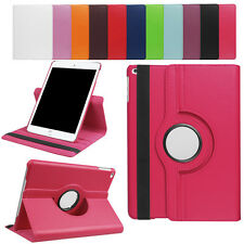 Premium Leather 360°Rotating Smart Stand Folio Case Cover For New iPad 9.7 Inch