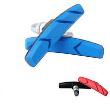 2X  MTB Mountain Road Bike Bicycle Cycling V Brake Holder Pads Shoe Block Blue