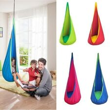 Kids Children Pod Swing Chair Nook Tent Indoor Outdoor Hanging Seat Hammock