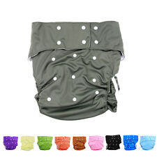 10 Colors Waterproof Teen Adult Cloth Diaper Nappy Pants for Bedwetting