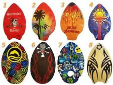 "Wooden Skimboard 30"" Begginer Skim Board Colorful Paintings Varius Shapes"
