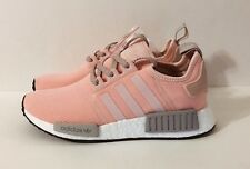 ADIDAS NMD R1 [WOMEN 8] VAPOUR PINK OFFSPRING ONIX GREY REFLECTIVE BOOST BY3059