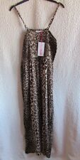 Brand New Ladies Womens Yourstyle Leopard Print Maxi Dress Size 10&16