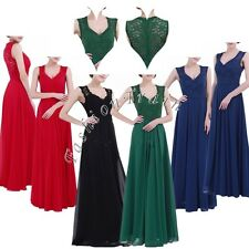 Fashion Women's Party Evening Wedding Bridesmaid Prom Graduation Ball Long Dress