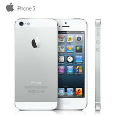 Apple iPhone 5 16GB 32GB 64GB GSM Unlocked Smartphone 4G LTE Black & White AT&T