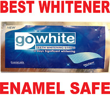 SUPER WHITE PRO TEETH WHITENING STRIPS (WHITER TEETH IN DAYS) GENUINE & SAFE