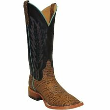Horse Power by Anderson Bean Mens Brown Leather Elephant Cowboy Boots