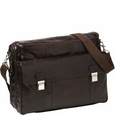 Cobb & Co Riley Washed Leather Laptop Bag FREE POSTAGE BNWT