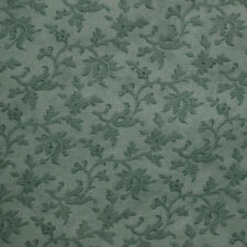 Quilt Fabric Cotton Calico Quilting FQ Teal Tonal Leaves Moda Fat Quarters