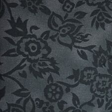 Quilt Fabric Cotton Calico Quilting FQ Dark Teal Tonal Floral by Benartex