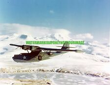USN  Consolidated PBY-5A  Catalina  Patrol Bomber Color Photo  Military  WW2
