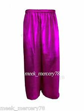 Belly Dancing Palazzo Pant For Women Satin Palazzo Pant Long Trouser Pant S~3XL