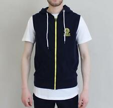 MENS Franklin And Marshall Sleeveless Hooded Track Top - Navy £64.99 - NEW 2017