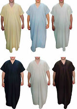 Men Thobe Thoub Abaya Robe Juba Qamis Daffah Dishdasha Islamic Arab Kaftan 398