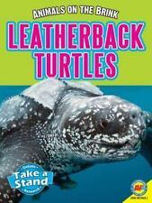 Leatherback Turtles (Animals on the Brink)-ExLibrary