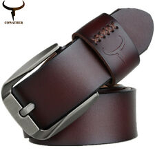 Men Luxury Polite Fashion Cow Genuine Leather Belt Men Elegant Office Belts