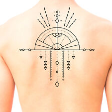 Tribal Shaman Mandala Temporary Tattoo #675 - Temporary Tattoos